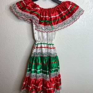Traditional child's Mexican dress